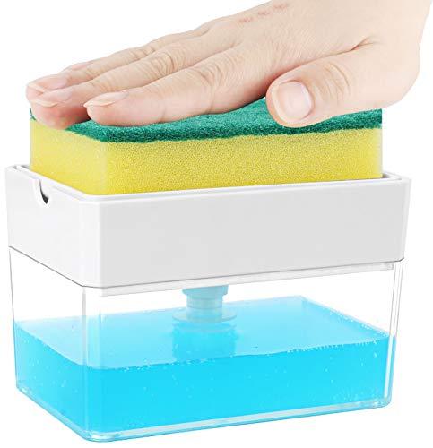 Albayrak Soap Dispenser For Kitchen + Sponge