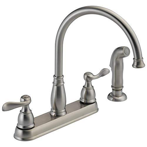 Delta Faucet Windemere 2-handle Kitchen Sink