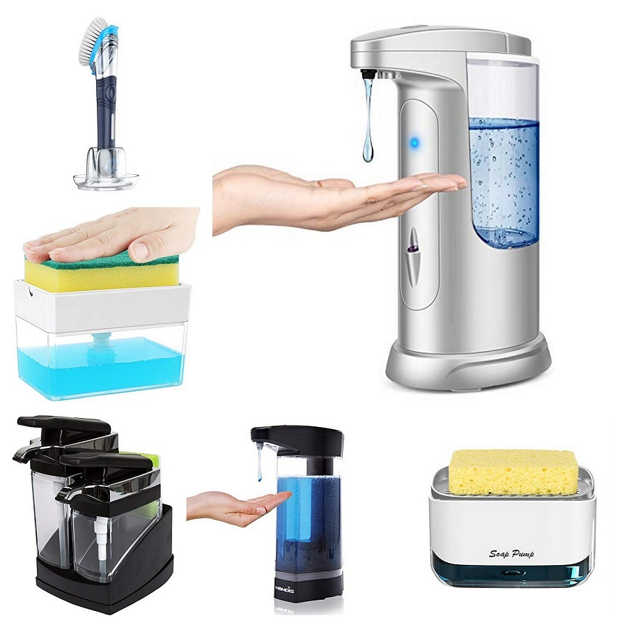 dish soap dispensers for kitchen