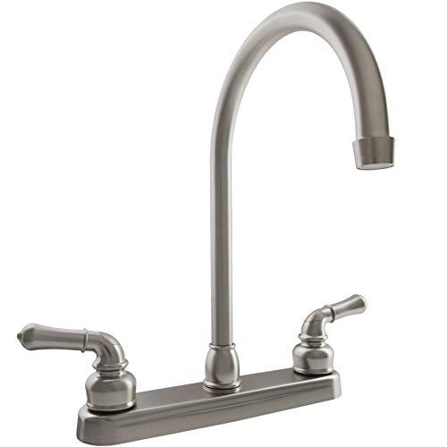 Dura Faucet Df-pk330hc-sn Rv J-spout Kitchen Sink