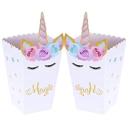 Jevenis Set Of 12 Magical Unicorn Party Favor