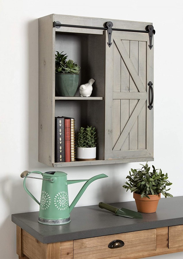Kate And Laurel Cates Decorative Wood Wall Storage