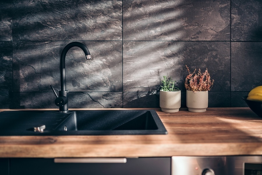 kitchen faucet finish