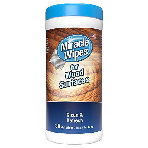 Miraclewipes For Wood Surfaces - Remove Dirt And