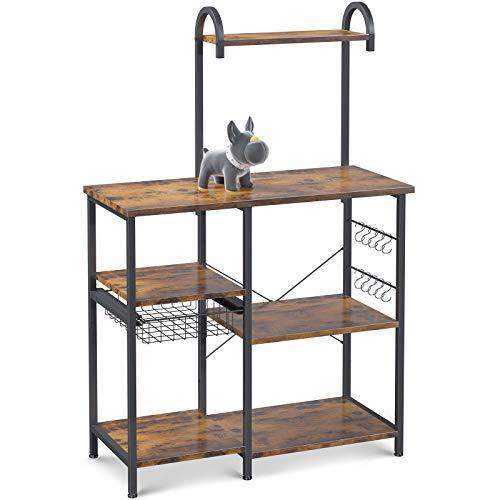 Odk Kitchen Bakers Rack Utility Storage Shelf