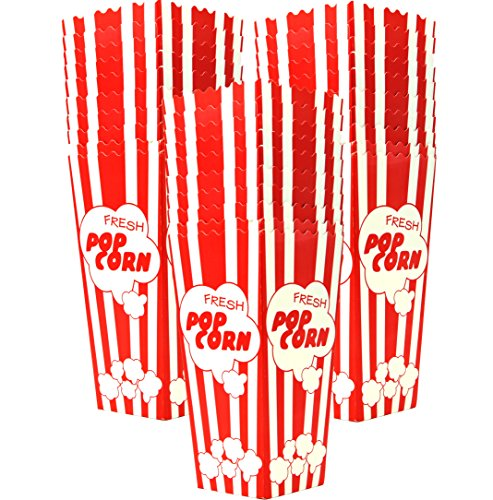 Top Rated 30 Popcorn Boxes 7.75 Inches Tall &