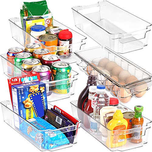 Set Of 6 Pantry Organizers-includes 6 Organizers