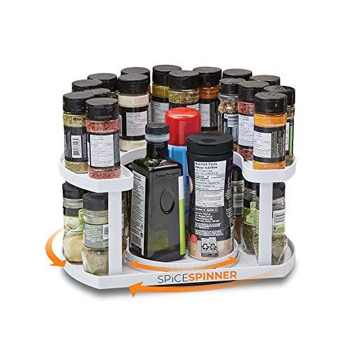 Spice Spinner Two-tiered Spice Organizer & Holder