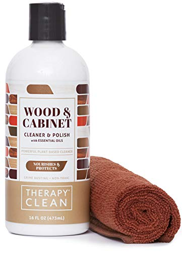 Therapy Wood Cleaner And Polish Kit With Large