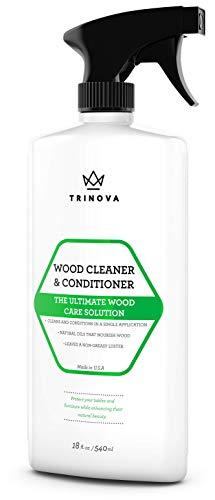 Wood Cleaner, Conditioner, Wax & Polish - Spray