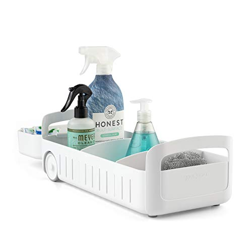 """Youcopia Rollout Caddy Under Sink Organizer, 8"""""""
