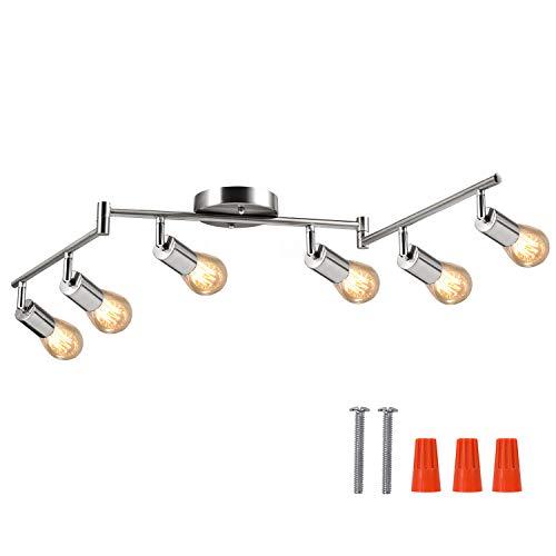 6-light Adjustable Led Dimmable Track Lighting Kit