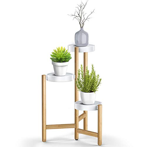 Adovel Plant Stand For Indoor Plants, 3 Tier Tall