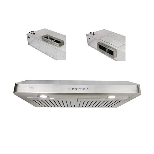 """Awoco Rh-r06 Rectangle Vent 6"""" High Stainless"""