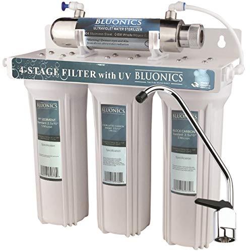 Bluonics 4 Stage Drinking Water Filter Uv