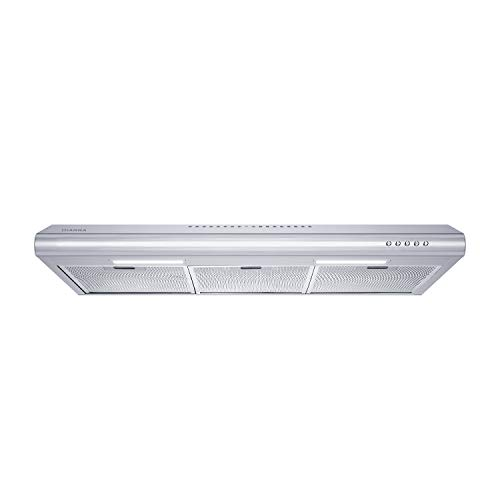 Ciarra Cas75918b Under Cabinet Range Hood 30 Inch,