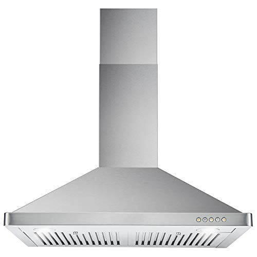 Cosmo 63175 30 In. Wall Mount Range Hood With