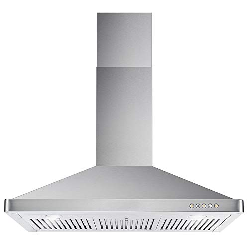 Cosmo 63190 36 In. Wall Mount Range Hood With