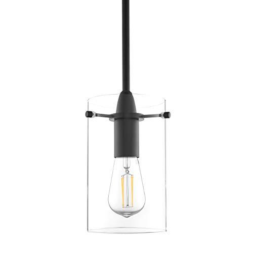 Black Pendant Light - Modern Effimero Mini Pendant