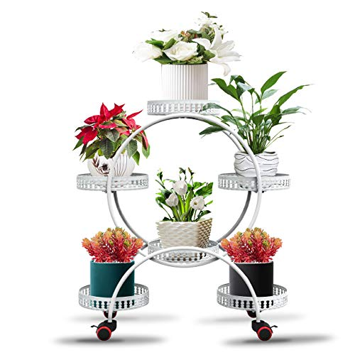 Plant Stands For Indoor Plants 4 Tier 6 Potted