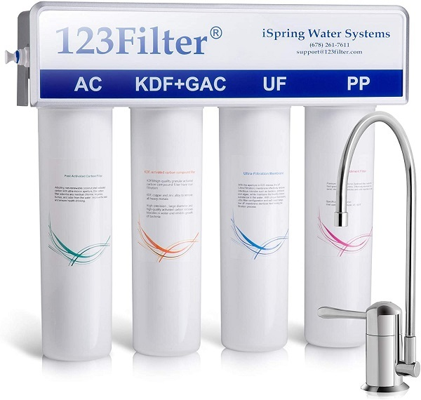 ispring 4-stage water filter