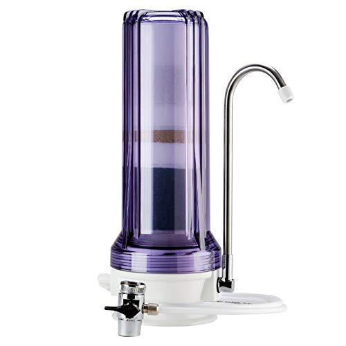Ispring Ct10-cl Countertop Water Filter, Clear