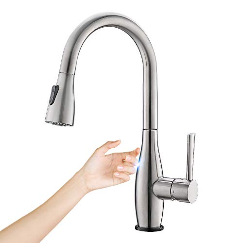 Crea Touch Kitchen Faucet With Pull Out Sprayer,