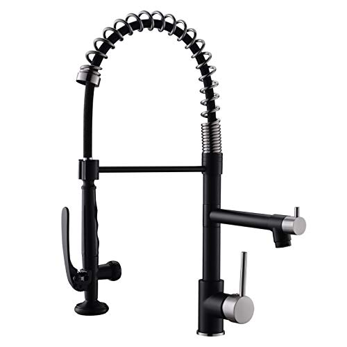 Pull Down Kitchen Faucet With Sprayer,fapully