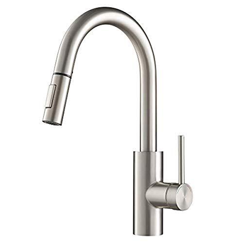 Kraus Kpf-2620sfs Oletto Kitchen Faucet, 16 Inch,