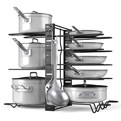 Pan Organizer-adjustable 8+ Pots And Pans