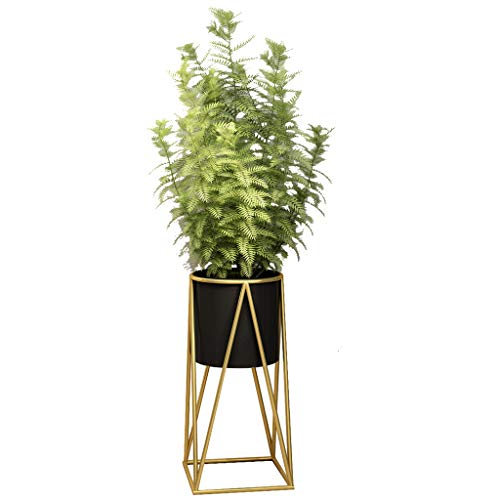 """18.5"""" Tall Metal Plant Stand Rack Mid Century For"""