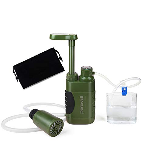 Purewell Water Purifier Pump With Replaceable