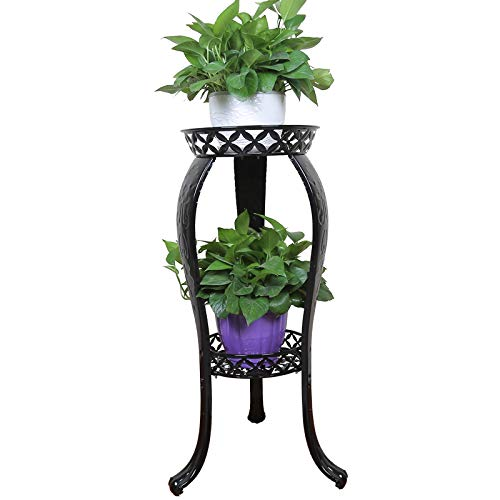 Metal Potted Plant Stand, 32inch Rustproof