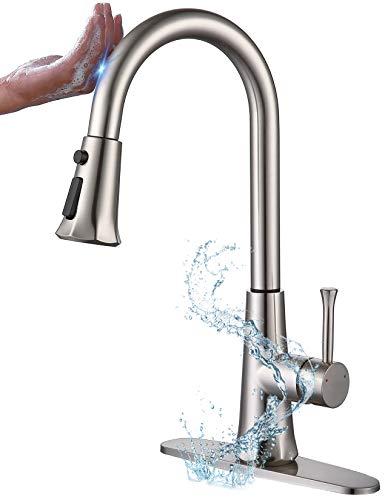 Soqo Smart Touch Faucet, 3 Modes Touch Kitchen