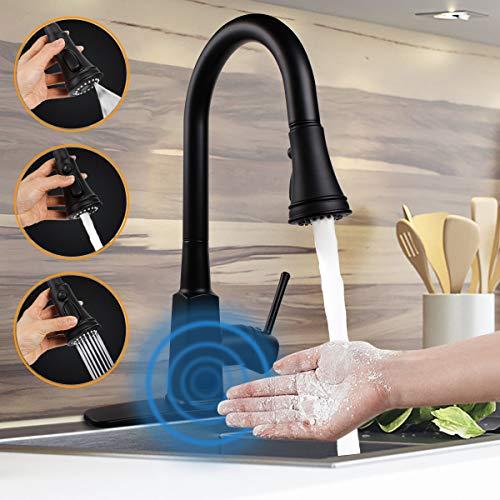 Motion Sensor Touchless Kitchen Faucet,soosi