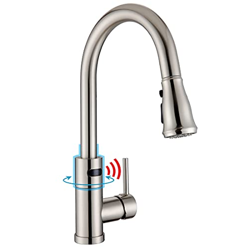 Willsland Touchless Kitchen Faucet, Swivel Motion