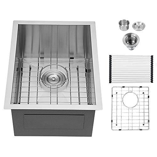 17 Bar Sink Undermount - Logmey 17 X 19 Inch