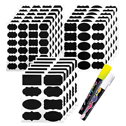 Chalkboard Labels 173 Pcs Pack, Reusable And