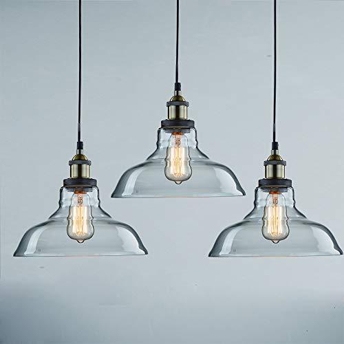 Claxy Ecopower Industrial Pendant Lighting Glass