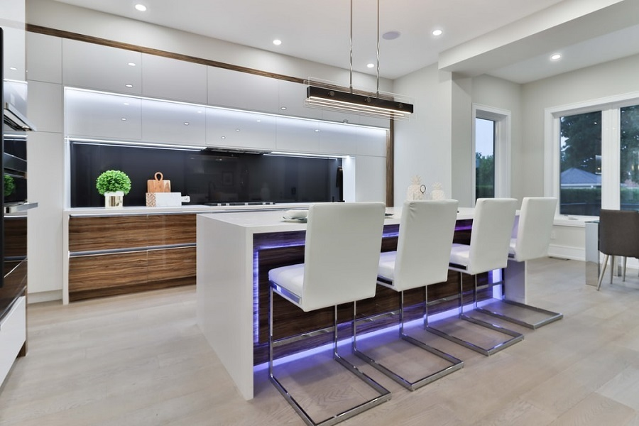 kitchen ceiling led strips