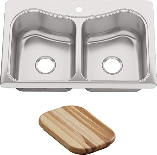 Kohler K-3369-1-na Staccato Double-basin