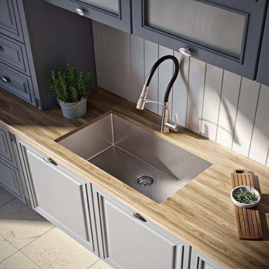 kraus undermount kitchen sink