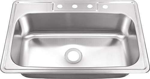 """Msdp3322sb 33"""" X 22"""" 20 Gauge Stainless Steel"""