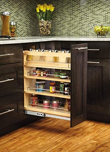 Rev-a-shelf 448-bc-8c 8-inch Base Cabinet Pullout