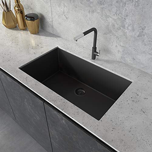 Ruvati 33 X 19 Inch Granite Composite Undermount