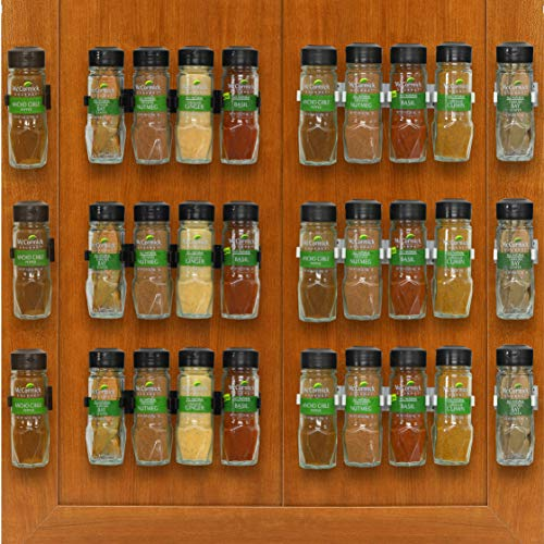 Simplehouseware 30 Spice Gripper Clips Strips