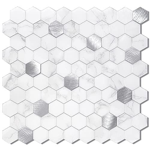 Benice Honeycomb Peel And Stick Backsplash,hexagon