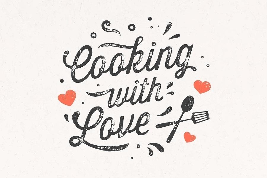 kitchen stencil