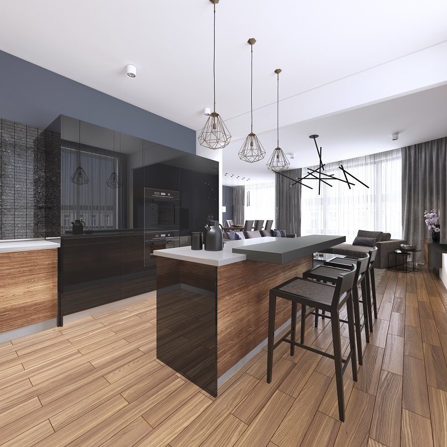 match stools and kitchen cabinets